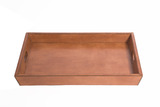 Large Leather Tray with Sloping Sides