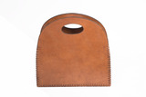 Leather Magazine Carrier