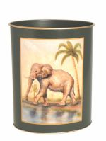 African Animals Waste Paper Bin