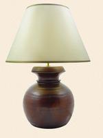 Himalayan Honeypot Lamp & Shade - Medium