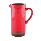 Tinted Pitcher - Red