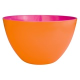 Orange/ Fuchsia Two Tone Salad Bowl - 28cm