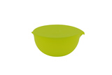 Medium Frost Bowl With Lid - Green