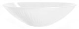 Techs Wide Fruit Bowl - White