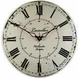 Large Enamel Lascelles French Clockmaker
