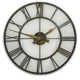 Outdoor/Indoor Clock with Metal Case