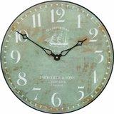 Ship Motif Wall Clock