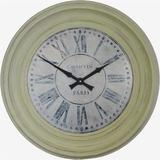 Grey Framed Chanvin Dial Clock