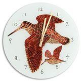 Glass Woodcock Clock