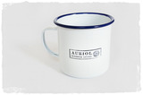 Large Enamel Mug - Set of 4