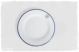 Enamel Plate - Set of 4