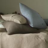 Moss Stitch Cushions - Large