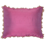 Silk Cushion - Fuschia