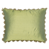 Silk Cushion - Green