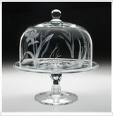 'Meadow' Cake Stand & Dome