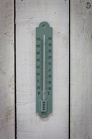 Annecy Thermometer - Shutter Blue