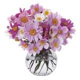 Crystal Anemone Vase