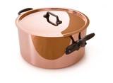 Mauviel M'Hertiage Copper Casserole & Lid