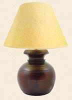 Extra Large Himalayan Honeypot Lamp & Shade