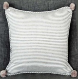 'Antique Grey' Bobble Cushion