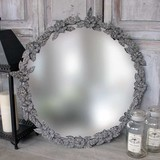 Floral 'Antique' Mirror