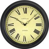 Black Station Clock - 45.5cm