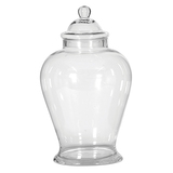 Large Glass Ginger Jar