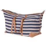 Nautical Stripe Weekender