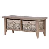 Grey Basket Coffee Table