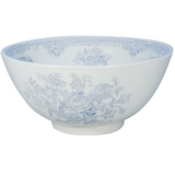 Blue Asiatic Pheasants Chinese Bowl - Large