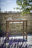 St Mawes Bar Table with Drinks Cooler