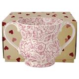 'Pink Wallpaper' Urn Vase