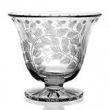 Fern Crystal Sugar Bowl