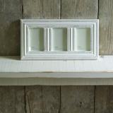 Manyara Wood Triple Frame