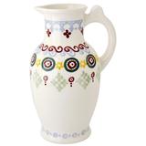 Folk Border Porter Vase
