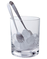 'Circle' Ice Bucket & Tongs