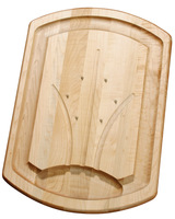 JK Adams Large Spiked Maplewood Carving Board