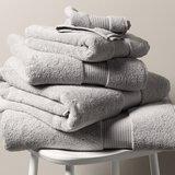 Egyptian Cotton Hand Towel - Pearl Grey