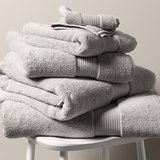 Egyptian Cotton Super Jumbo Towel - Pearl Grey