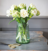 Recycled Glass Tulip Vase