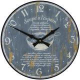 'Soupe a l'Onion' Recipe Clock