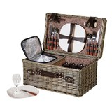 4 Person Picnic Hamper with Cool Box