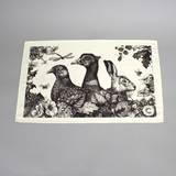 Game & Garden Tea Towel