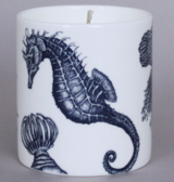 Bone China Candle - Lamorna