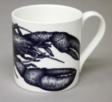 Bone China Lobster Mug