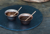 Copper Chutney Dishes (set of 2)