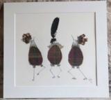 'Highland Jiggle' - Mounted Print