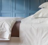 Brompton White Duvet Cover - King Size
