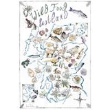'Wild Food Scotland' Tea Towel