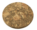 Round Natural Cork Trivet - 25cm